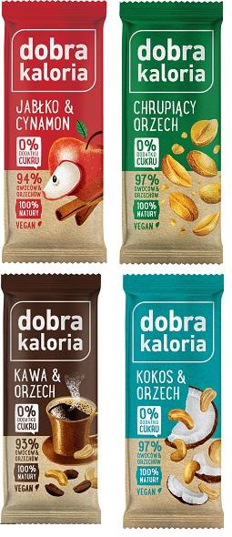 Zestaw 20 Batonów Dobra Kaloria różne smaki